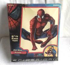 Spiderman Puzzle Pal Size Pressman 2.5 Feet Tall 2002 Ages 4+ / New - $9.49