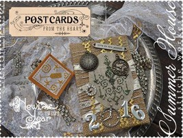 Postcards From The Heart #12 New Year cross sti... - $4.00