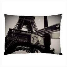 NEW PILLOW CASE HOME DECOR Paris France Travel ... - $26.99