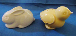 EASTER HALLMARK BABY RABBIT AND CHICK SALT AND PEPPER SET - $6.92