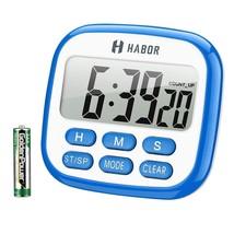 Habor Digital Kitchen Timer, Cooking Timer, Large Display, Strong Magnet... - $11.57