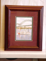 Framed Elaine Speed Neely  Tennessse Print - $19.00