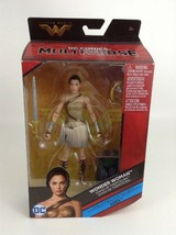 Wonder Woman 2017 DC Comics Multiverse DIANA Themyscira Figure BAF Ares ... - $21.33