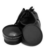 1set 52MM 0.45x Wide Angle Macro Lens for Nikon D3200 D3100 D5200 D5100 ... - $19.22