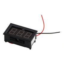 1Pcs Mini Digital Voltmeter Red LED Vehicles 3.3-30V Motor Voltage with ... - $6.00