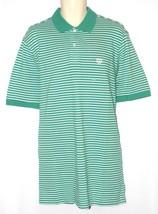 CHAPS Mens Big & Tall Polo Shirt Size LT Green Short Sleeve NEW $51 - $25.00