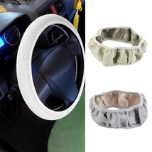 New Fabric Handmade Steering Wheel Cover Breathability Skidproof Univers... - $4.71
