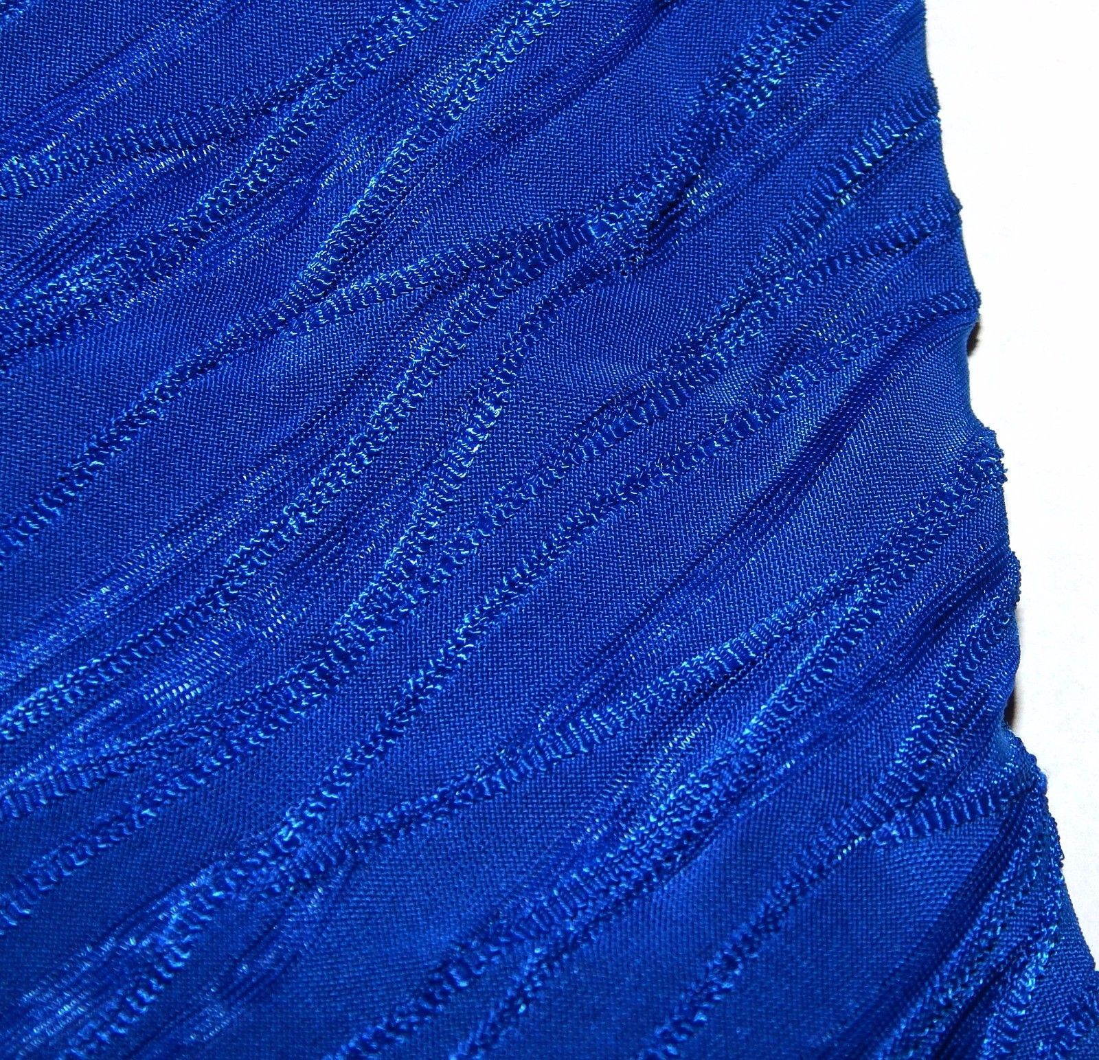 Dana Buchman Textured V-Neck Top & Tank Blue Crush Womens Size M L XL NEW $44