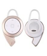 Mini Bluetooth Headset Wireless Stereo Music Headphones Earphone Hook Ea... - $12.09
