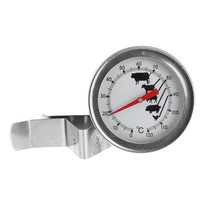 Stainless Steel Coffee Milk Thermometer Espresso Frothing Temperature Me... - $8.53