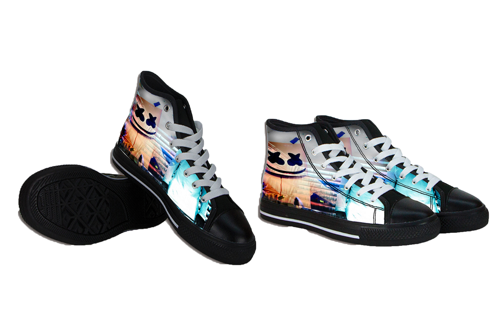 Marylin Manson Canvas Mens Shoes