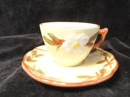 Stangl White Dogwood Cup And Saucer - $9.99