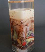 OLIVE OIL VINEGAR DISPENSER Vineyard Mediterranean Tuscan Glass Bottle Cruet NEW image 3
