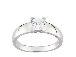 Ring Cacharel with big stone, mybe engagement (CSR174Z), Sterling Silver... - £28.10 GBP