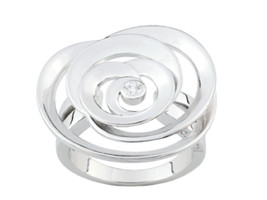 Ring Cacharel simple with big flower (CSR231Z), Sterling Silver 0,925 - £44.97 GBP