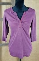 Torrid women's 3/4 sleeve shirt sweatshirt pullover size 0/L - $25.69