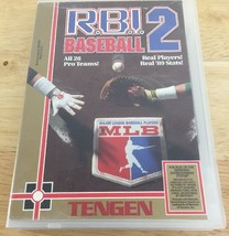 R.B.I. Baseball 2 (Nintendo Entertainment System, 1990) Tengen Tested Works - $14.01