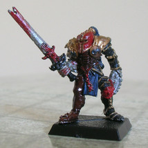 Full plate fighter (metal painted miniature) - $10.00