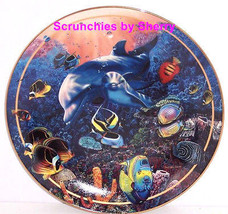 Fish Mothers Love II Collectors Plate Bradford Exchange Sealife Ocean Vi... - $59.95