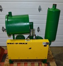 Vac-U-Max MDL 107152B Positive Displacement Vacuum System 230/460V 3PH 60HZ - $3,910.50