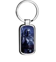 Jango Fett  Star Wars metal keyring Keychain - $13.99