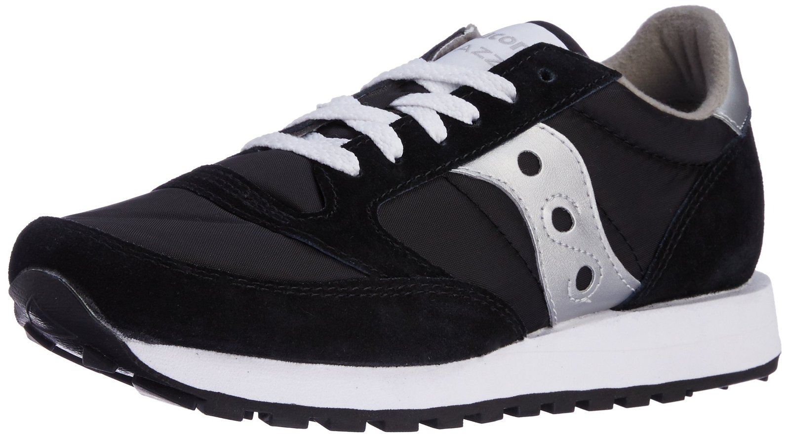 Saucony Originals Men's Jazz Sneaker,Black/Silver,9 M