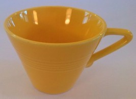 Vintage Harlequin Yellow Cup Coffee Tea Homer Laughlin Pottery - $6.89