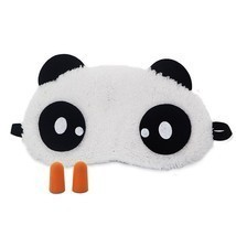 3D Panda Sleeping Eye Mask Nap Eye Shade Cartoon Blindfold Sleep Eyes Cover - €3,46 EUR