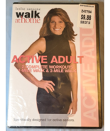WALK AT HOME: ACTIVE ADULT DVD- Sansone- Exercise & Fitness- NEW!- FREE ... - $9.50