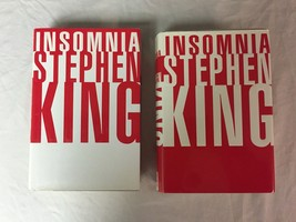 Insomnia by Stephen King - 1st Edition - Hardcover - Both Dust Jackets - $19.19