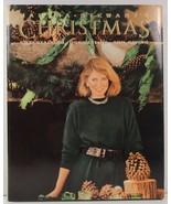 Martha Stewart's Christmas 1989 HCDJ - $4.99