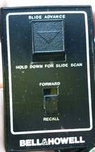 Bell & Howell RC55 Slide Projector Remote Control Replacement Brand New - $35.00