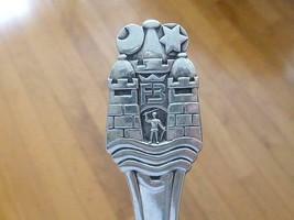 1910 HANS ANDERSEN Fairy Tale Castle F3 Frederick Denmark 830S Silver Spoon - $148.49
