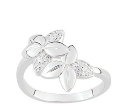 Ring Cacharel with many leaves (CSR369Z), Sterling Silver 0,925 - £32.80 GBP