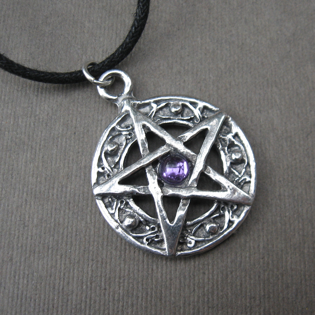 Pendant amulet protected life purple 1024x1024