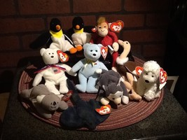 TY Teenie Beanie Babies - set of 10 Assorted - $12.99