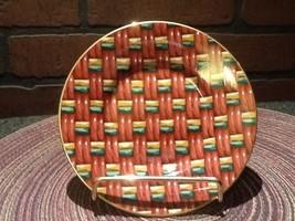 Vintage Fitz and Floyd Fine Porcelain - Saucer - Basketry #416 - $4.95