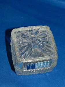 Primary image for Crystal Clear Industries 24% Lead Crystal Made in Yugoslavia Trinket Box