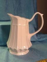 I. Godinger Porcelain Mini Paneled Pitcher Dressing, Syrup, Juice, Milk/... - $16.85