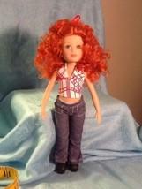 """2005 Madame Alaexander Stilettos Kikki 9"""" Red Hair Doll Platform Shoes - $14.85"""