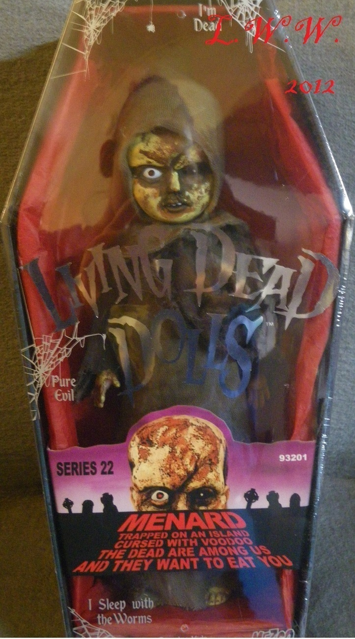 Primary image for Living Dead Dolls Zombies Series 22 Menard Gothic Horror Mezco Anniversary