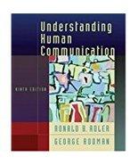 understanding human  communication  - $1.00