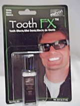 Tooth White Teeth Whitening FX .Mehron Paint Brush On White Theatrical - $8.90