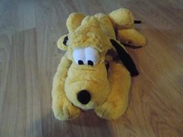 Walt Disney Store Pluto Puppy Dog Bean Bag Buddy Plush Doll Toy Stuffed Animal  - $22.00