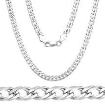 Men/Women's 4.2mm 925 Sterling Silver Double Cuban Curb Link Italy Italian Chain - $74.05+