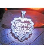 Love heart magick pendant haunted thumbtall