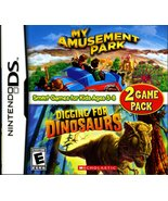 My Amusement Park/Digging for Dinosaurs - Game Pack - Nintendo DS [Ninte... - $6.87