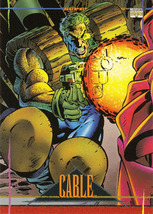 Marvel Universe Series 4 #35 - Cable - $0.45