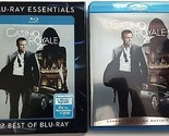 CASINO ROYALE BLU RAY WITH BLU-RAY ESSENTIALS SLIPCOVER SLEEVE 007 FREE SHIPPING
