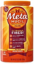 Metamucil Psyllium Fiber Supplement Orange Smoo... - $25.42